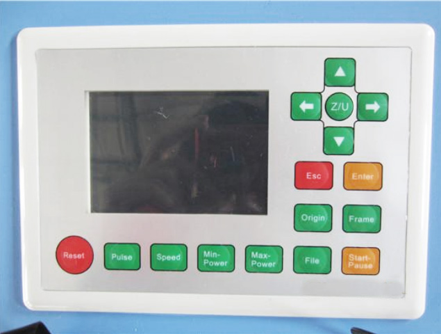 Chinese laser engraver control unit