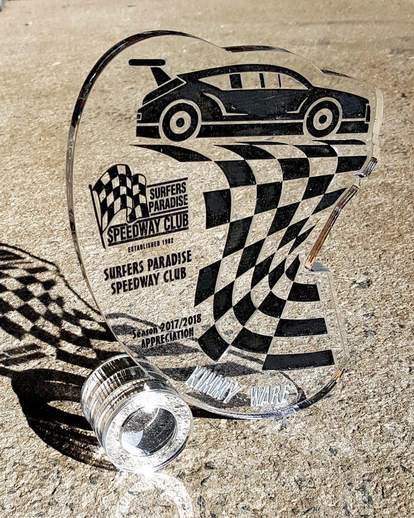 20180714 Custom Trophy Appreciation