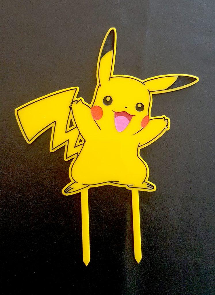 20180725 – Pikachu Cake Topper