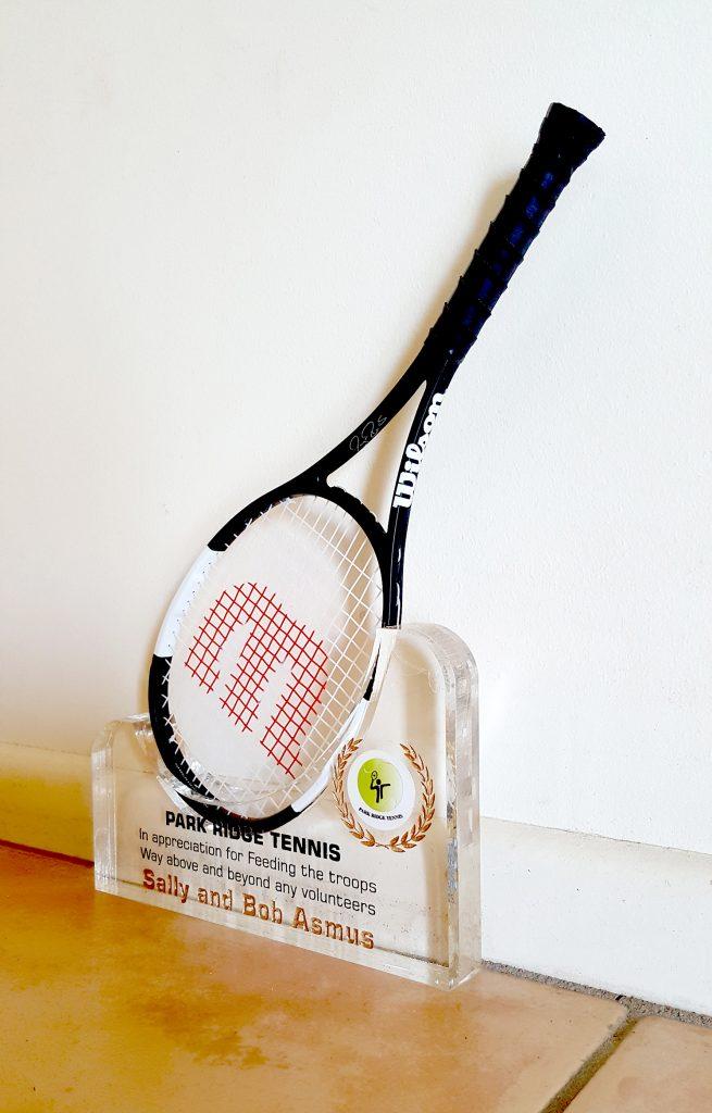 20180926 – Mini Tennis Racket Holder